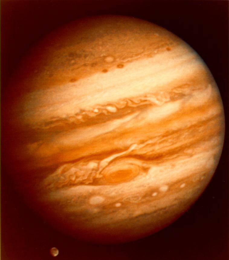 Фото планеты Юпитер: NASA.